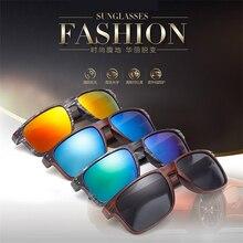2016 Fashionable Wood Sunglasses Men Reflective Sun Glasses Outdoors Square Eyewear Gafas De Sol Oculos De Sol Feminino