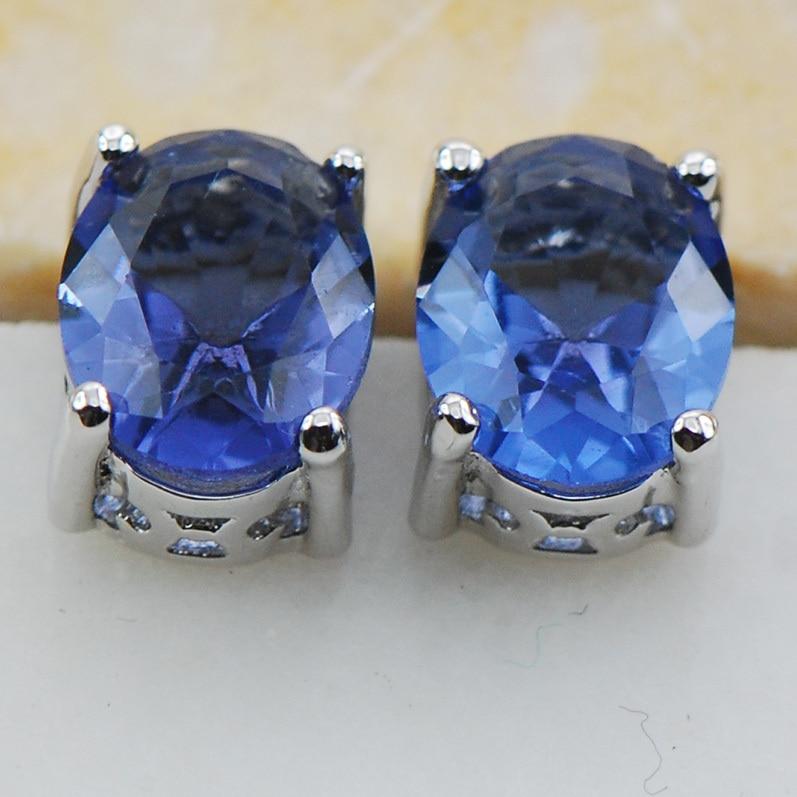 45a8b2d8fb72 Luz púrpura cristal ZIRCON 925 plata esterlina Pendientes de broche pe04  este artículo la orden mínima es  10