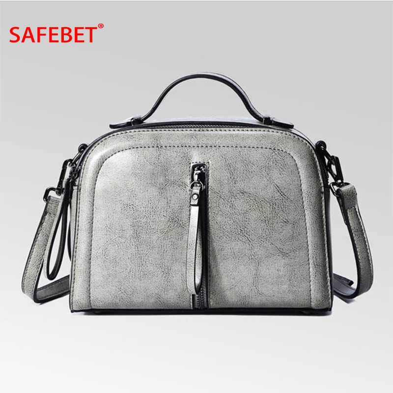 SAFEBET Brand 2018 New Fashion Handbags Designer 100% Genuine Leather Bags Women Shoulder Crossbody Bag Handbag Messenger bag safebet 2018 fashion shoulder bag high quality designer luxury women 100% genuine leather genuine leather waterproof handbag