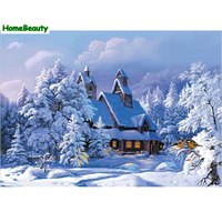 Home Beauty Digital Oil Painting By Numbers Diy Hand Painted Canvas Wall Acrylic Paint Picture Coloring
