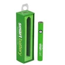 5pcs Smart Cart Electric cigarette 380mAh Battery fit 510 Thread For Dank vapes CBD liquid oil USB Charger vape tank battery
