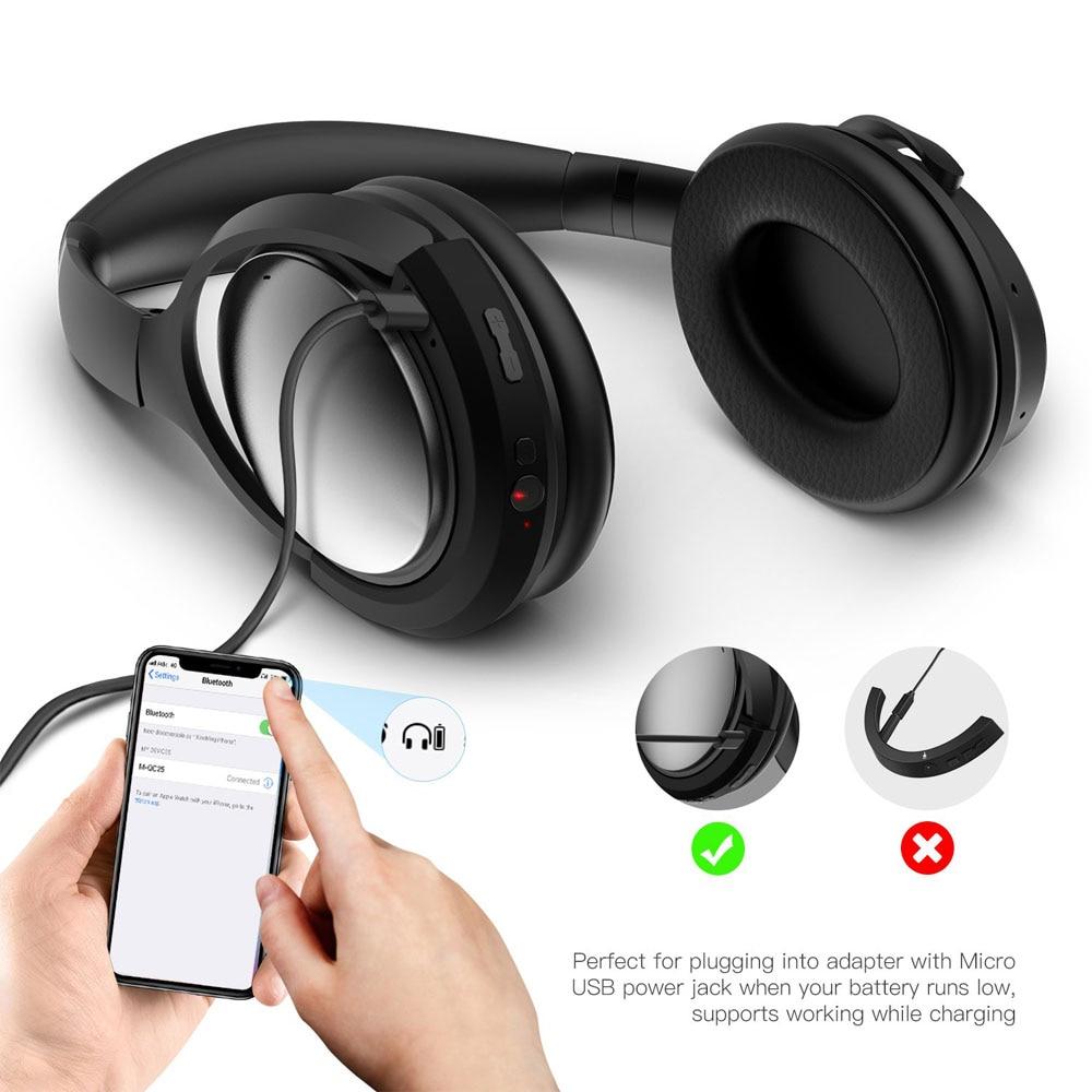 POYATU Wireless Bluetooth Adapter For Bose QC25 QC 25 Headphones Wireless Bluetooth Receiver For Bose QuietComfort 25 aptX  A-4