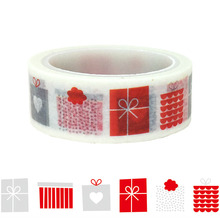 20pcs/set Christmas Gift Packaging Box DIY Washi Tape Decorative Hand Accessories Paper Stationery