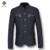 2016 Homens Ternos de Vestido de Lã Casacos Casacos Blazers Veste De Loisir Herren Anzug dos homens Moda Casual Slim Fit Longo Mangas Compridas Blazers