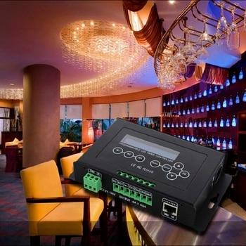 DMX 512 input Programmable Timer BC-322-6A DC12V-36V LED Dimmer Aquarium Controller Led Srip Light Controller with LCD display