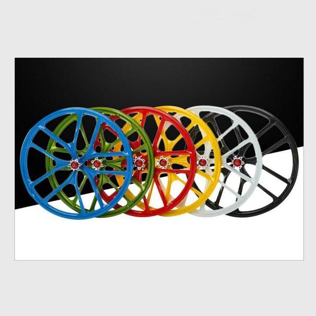 Kalosse Magnesuim Hot Selling Bike Parts 27 5 Inch Bike Wheel Mtb