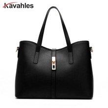 2019 Fashion New Women Leather Handbags Litchi ladies Messenger Bag Crossbody