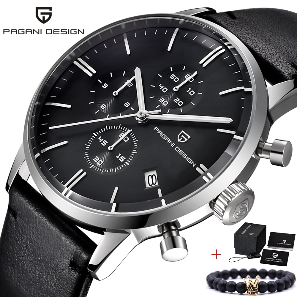 PAGANI DESIGN Top Brand Luxury Design Men Watches Chronograph Leather  Quartz Watches Mens Fashion Sport Military Wristwatch PAGANI DESIGN Top Brand Luxury Design Men Watches Chronograph Leather  Quartz Watches Mens Fashion Sport Military Wristwatch