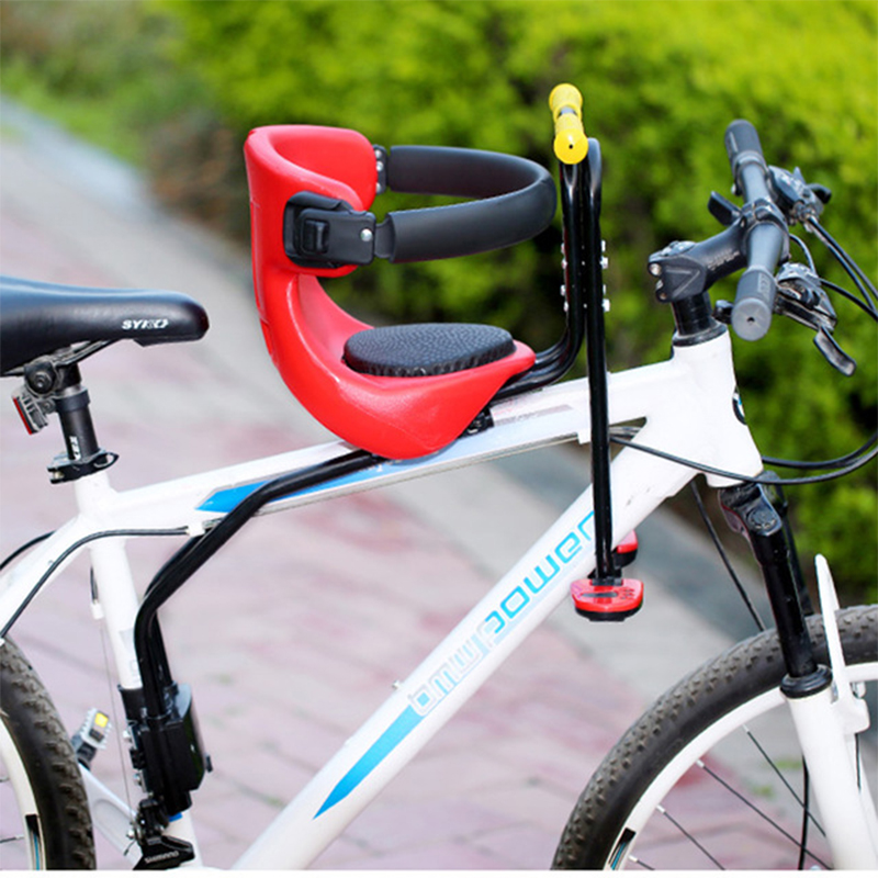 Mountain road bike child safety chair front|Bicycle Saddle| |  - title=
