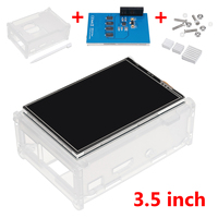 3 5 Inch TFT LCD Tou Ch Screen Protective Case Heatsink Tou Ch Pen Kit For