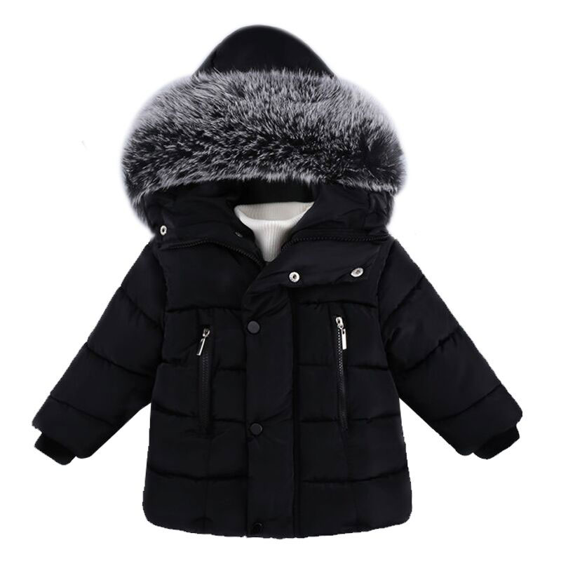 Hot Fashion Winter Jacket For Boy Hooded Kids Coat Infant Cotton Down Jackets Toddler Coats Boys Parka Girls Warm Outerwear 2017 children jackets for boys girls winter down cotton coats kids thickening wadded jacket hooded parkas child coat