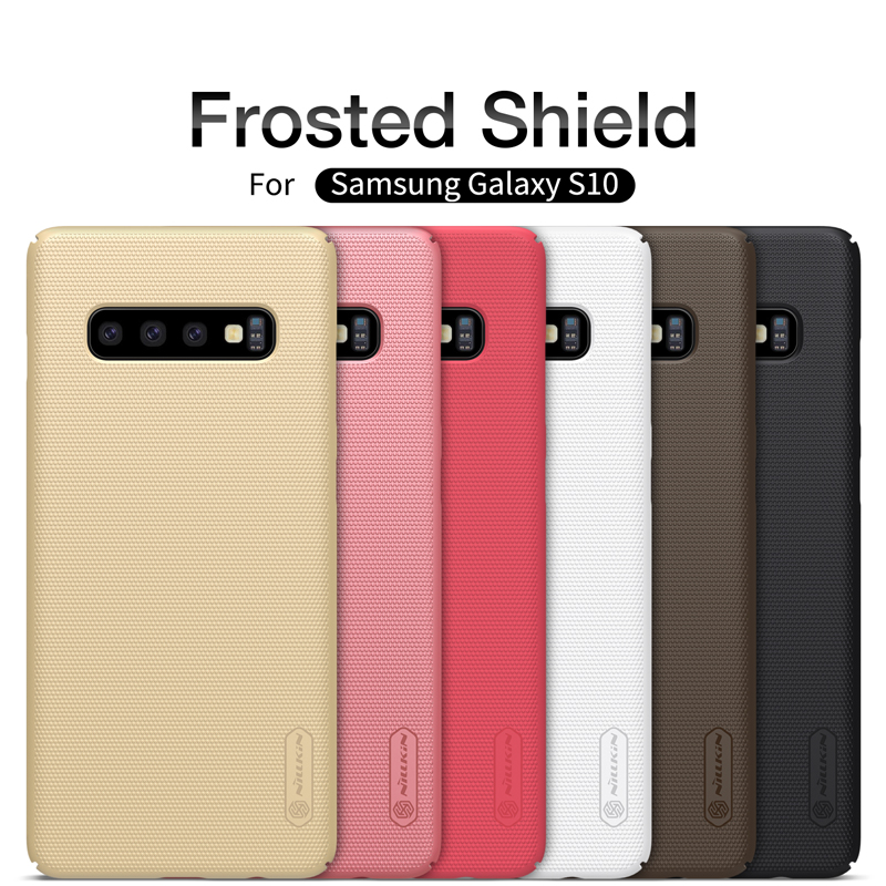 Case For Samsung Galaxy S10 Plus Super Frosted Shield Matte Hard Back Cover For Samsung S10 /S10 Plus Gift Phone Holder