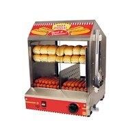 Best Sale Commercial 220V Electric Sausage Hot Dog Cooker Hotdog Steamer Machine Bun Warmer