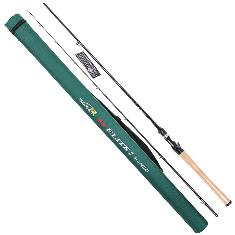Trulinoya 2.03m Power:MH Baitcasting Fishing Rod 2Secs 7-28g Carbon Lure Rods FUJI Accessories Action:Fast Pesca Stick Tackle 2 secs wood handle spinning fishing rod 1 98m 2 1m 2 4m power ml m mh carbon lure rods vara de pesca peche stick fishingtackle