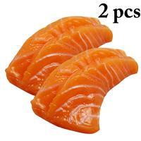 2 шт. моделирование суши модель муляж пищевых продуктов креативные реалистичные суши игрушечная Имитация пищевых продуктов фотография Рек...