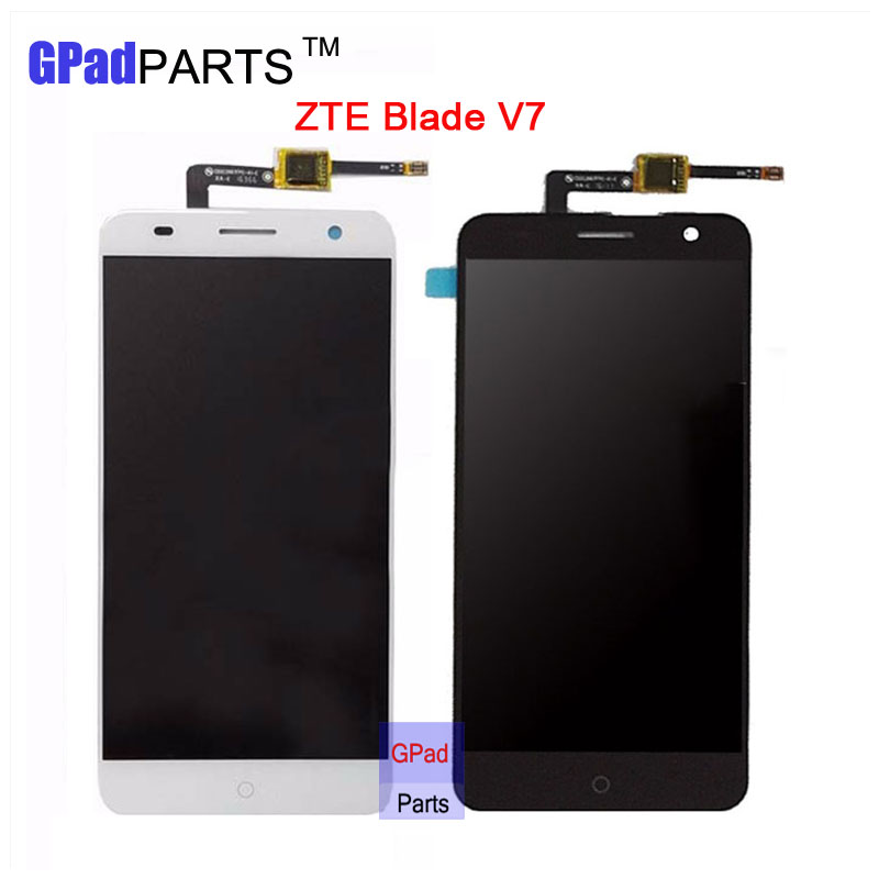 GPadparts For ZTE Blade V7 LCD Assembly with Touch Screen Panel Digitizer Replacement screen For ZTE Blade V7 phone display