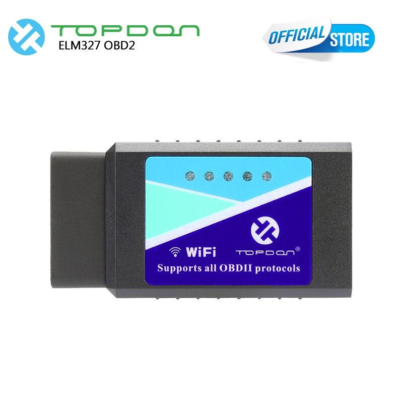 ELM327 V1.5 pic18f25k80 OBD2 Strumento Diagnostico Come Easydiag TOPDON WIFI ELM327 Lettore di Codice & Scan Tool strumento di diagnostica automotive