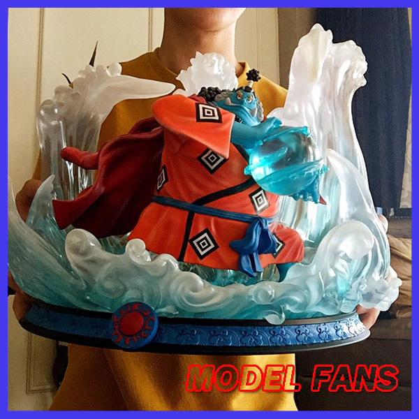 MODEL FANS instock one piece 32cm Jinbe gk resin statue Figure for Collection