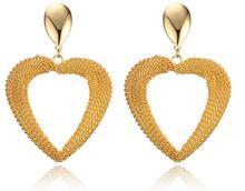 Heart T Earring TIF Plated gold Women Charm Jewelry Earring pulseiras Fashion Famous Luxury Brand Earrings For Woman