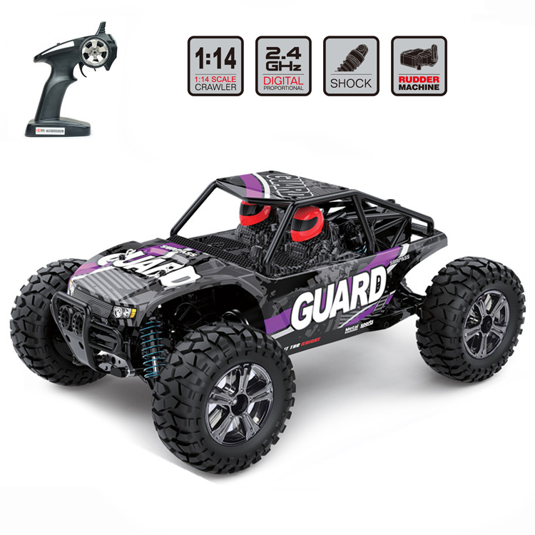 EBOYU BG1520 RC Car 22km/h High Speed Off-Road Vehicle 1:14 Scale 4WD 2.4GHz Electric Racing Car Remote Control Buggy Vehicle