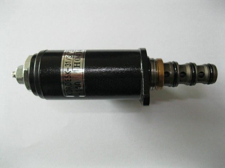 rapido frete gratis sany sy215 30c50 140 sany escavadeira bomba hidraulica valvula solenoide valvula