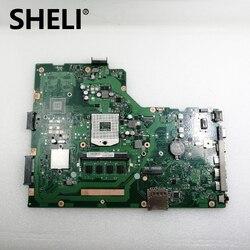 X75VB płyty głównej REV: 2.0 4GB pamięci RAM DDR3 HM76 dla ASUS X75V X75VC X75VD R704V X75VD laptopa płyty głównej w 100% testowane w stanie nienaruszonym w Płyty główne od Komputer i biuro na
