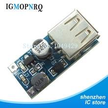 5 pces DC-DC módulo de impulso módulo de fonte de alimentação 0.9v ~ 5v a 5v 600ma usb placa de circuito de impulso de energia móvel