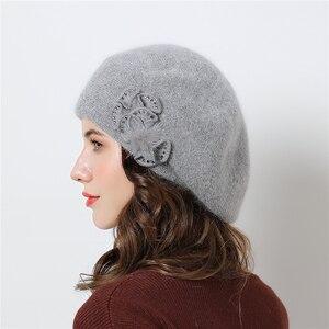 Image 3 - Chapeaux dhiver Double couche pour femmes