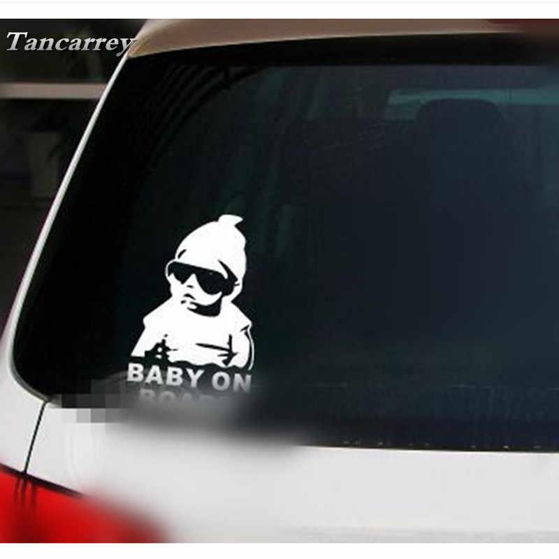 Komik karikatür araba Sticker Styling çıkartmaları jeep wrangler için nissan x-trail hyundai creta suzuki sx4 jimny kia cerato aksesuarları