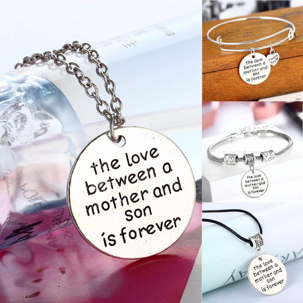 Family Gifts Charm Heart Pendants Necklace Love Between ...