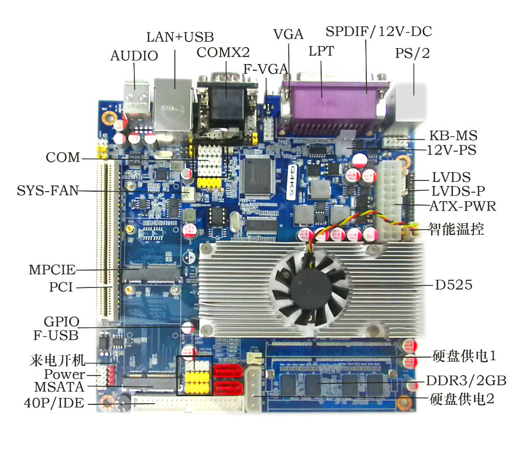 dc 12v  power mini itx motherboard top525 motherboard with sim slot big promotion mini itx [1118] motherboard dedicated blade flex small 1u power supply advertising