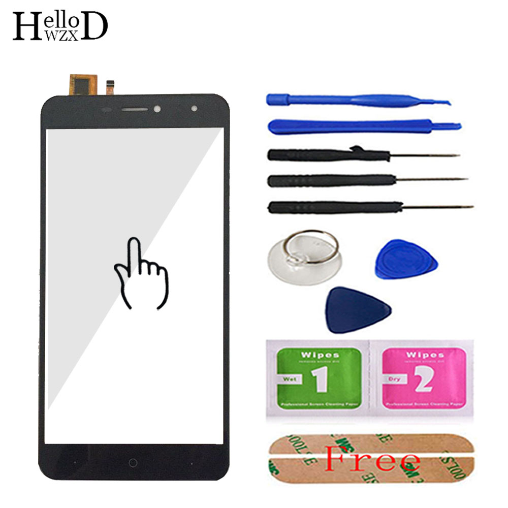 6.0'' Touch Screen Glass For Doogee X7 / X7 Pro Touch Screen Glass Digitizer Panel Front Glass Lens Sensor Mobile Tools Adhesive