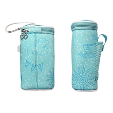 цена на Usb Baby Bottle Warmer Heater Insulated Bag Travel Cup Portable In Car Heaters Drink Warm Milk Thermostat Bag For Feed Newborn