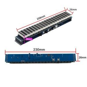 Image 4 - Ghxamp multicolorido 20 segmento led amplificador de espectro de música nível 10 usb 5 12 v função de relógio de alimentação terminado novo
