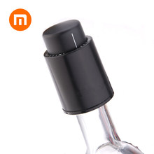 Xiaomi Mijia Plastic Vacuum Wine Bottle Stopper Sealed Storage Vacuum Memory Wine Stopper Electric Stopper Wine Corks(China)