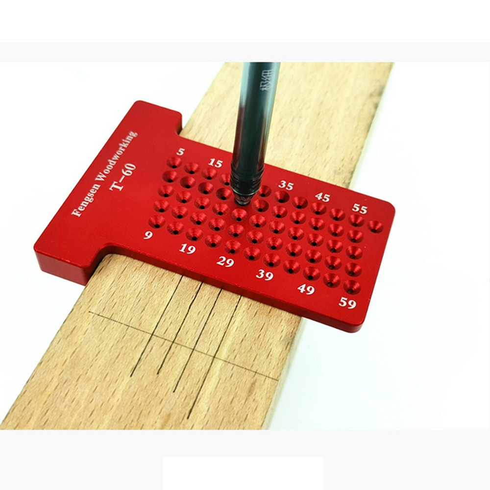 New Portable T-shaped Precision Woodworking T 160mm Carpenter's Marking Rulemeasuring Tools Crossed Ruler Measuring Tool