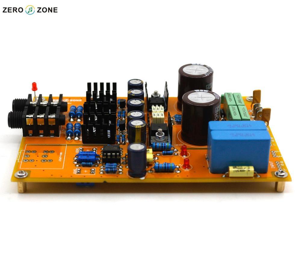 Gzlozone Standard Version Diy Headphone Amplifier Preamplifier Kit Base On Lehmann Amp Circuit Board Linear In Circuits From Consumer Electronics