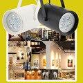 High Quality AC85-265V 9W 9LEDs COB Track Rail Light Spotlight Adjustable Mall Exhibition Office Track Lighting light