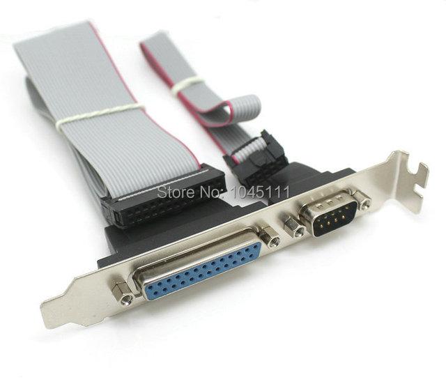 Buy motherboard rs232 rs 232 db9 serial port com db25 printer parallel port - Parallel port and serial port ...