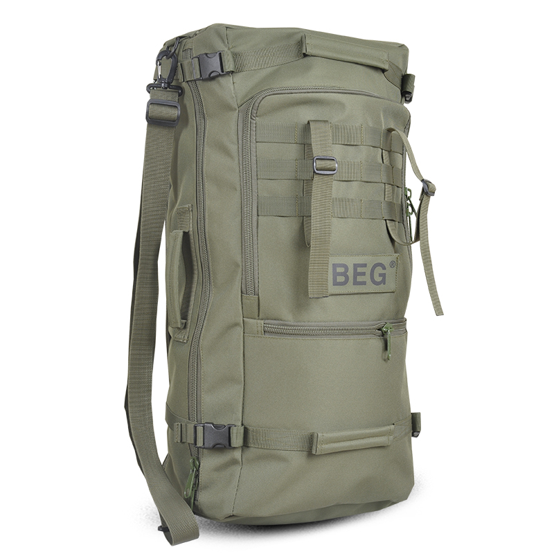 Men Backpacks Camouflage-Bags Nylon-Pack Casual Fashion 60L A6 Multi-Function
