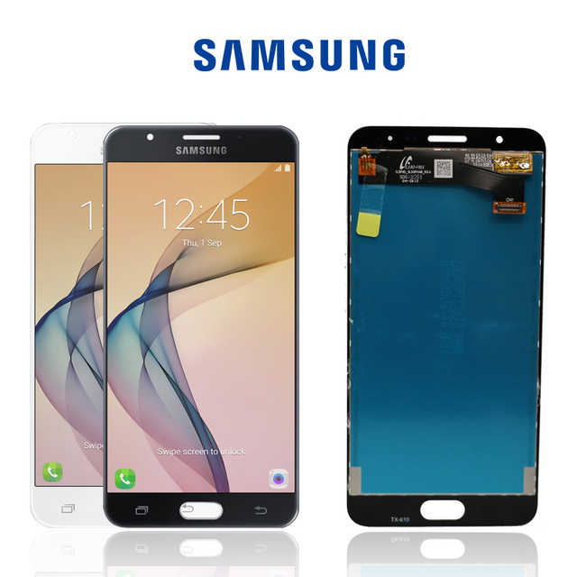 5ddfa55f2 ORIGINAL 5.5   IPS HD Display LCD para SAMSUNG Galaxy J7 Prime G610 G610F  Touch