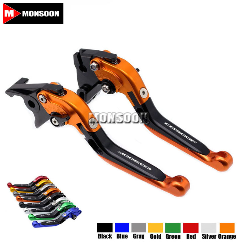 LOGO CB500F For HONDA CB500F CB 500F CB500X 2013-2016 Motorcycle Accessories Folding Extendable Brake Clutch Levers 20 Colors