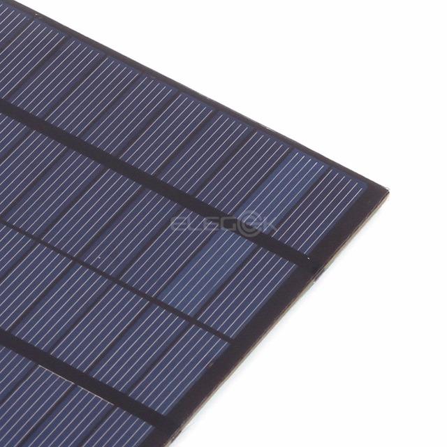 ELEGEEK 4.2W 18V 200*130mm DIY Solar Cell Polycrystalline PET + EVA Laminated Mini Solar Panel for Solar System and Test