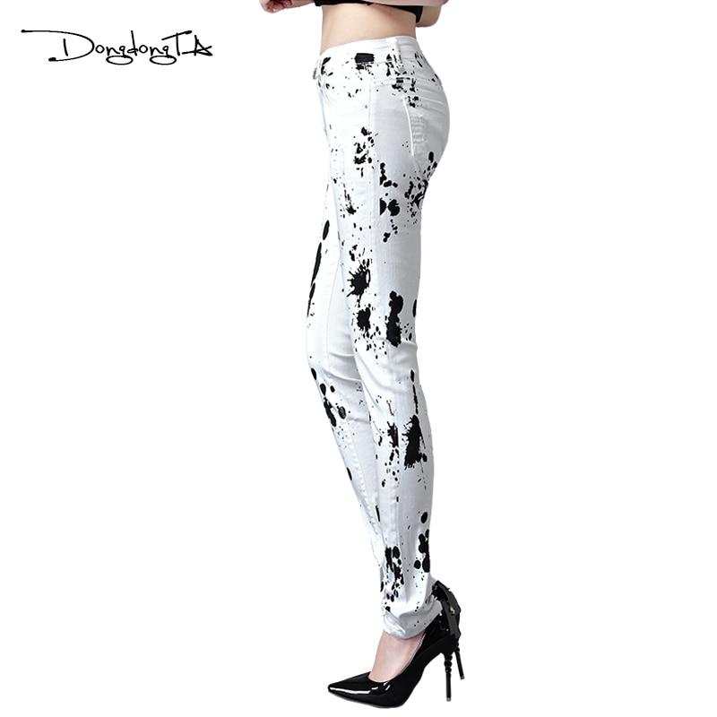 Dongdongta New Women Sommerjeans 2017 Original Design in voller - Damenbekleidung - Foto 2