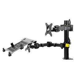 Nbsilence portátil montagem & monitor suporte de suporte para notebook suporte de mesa braço lcd apto para 10