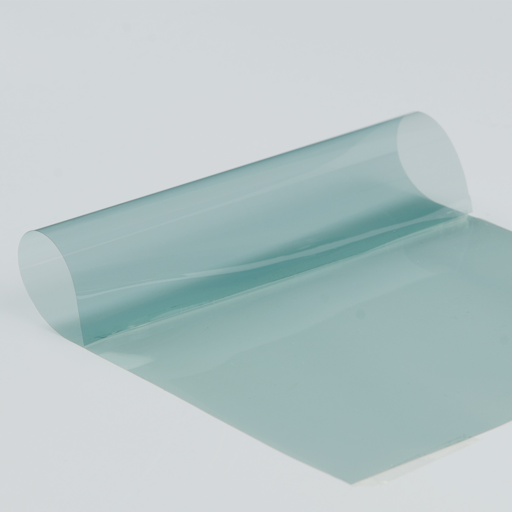 4mil 70% VLT bleu clair Super clair Film de sécurité/sécurité Nano céramique teintes 100x600 cm