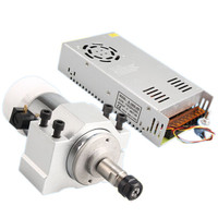 DANIU 300W High Speed Air Cooled Motorized Spindle Motor Machine Accessories For PCB Engraving