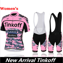 2016 New Arrival ! tinkoff women's Summer Short Sleeve Cycling Jerseys/Bike Sports Clothing Cycle Bicycle Clothes Ropa Ciclismo