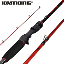KastKing Spartacus 4 Colors Casting Fishing Rod 1.98M 2.13M in Toray 24 Ton Carbon Fiber MF Action 2 Tips for Pike Squid Fishing