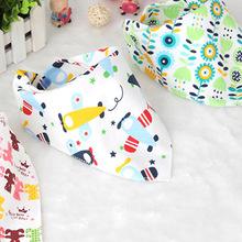 Baby Bib Burp Cloth Baby Bibs for Boys Girls Animal Print Smock Cotton Baby Scarf Feeding Collar Burp Baby Accessories cheap insular Novelty MY1852-01 Unisex 0-3M 7-9M 13-18M 19-24M 10-12M 4-6M
